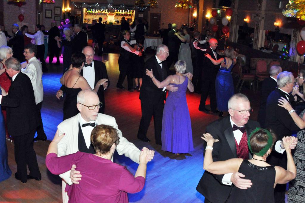 adult dinner and ballroom dancing